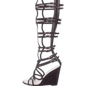 Chanel Gladiator Wedge Sandal